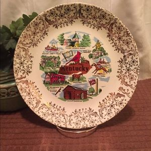 State of Kentucky Collectible Plate
